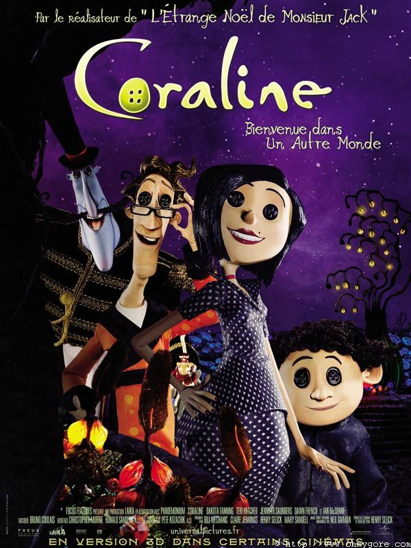 Coraline 2009 Henry Selick