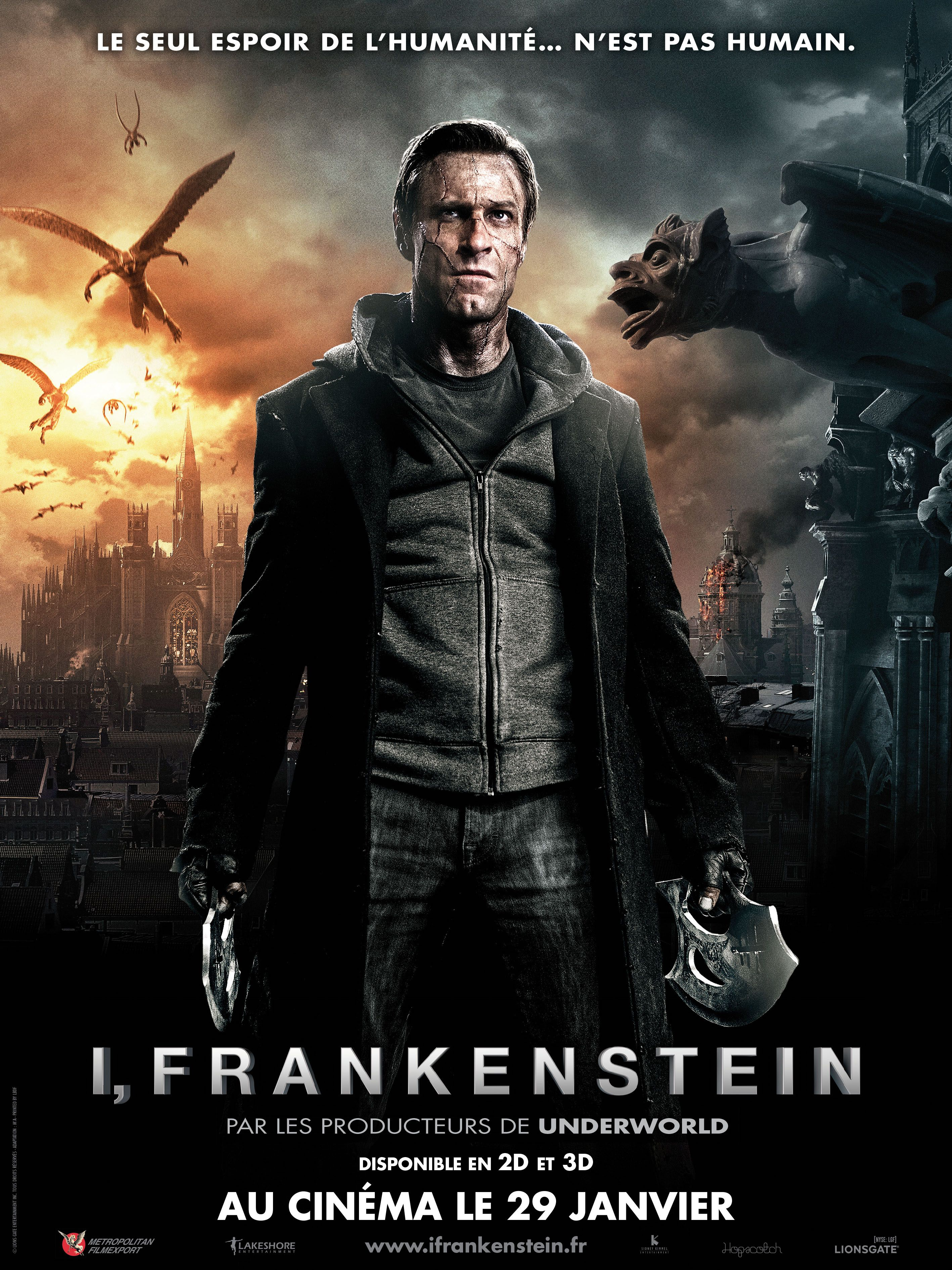 for   I  FRANKENSTEIN     I Frankenstein
