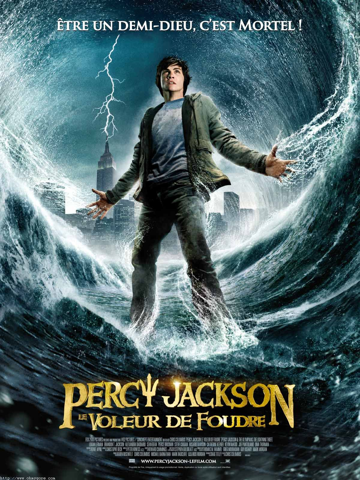 Percy Jackson and the Olympians 5 Book Paperback Boxed Set (new covers w/poster