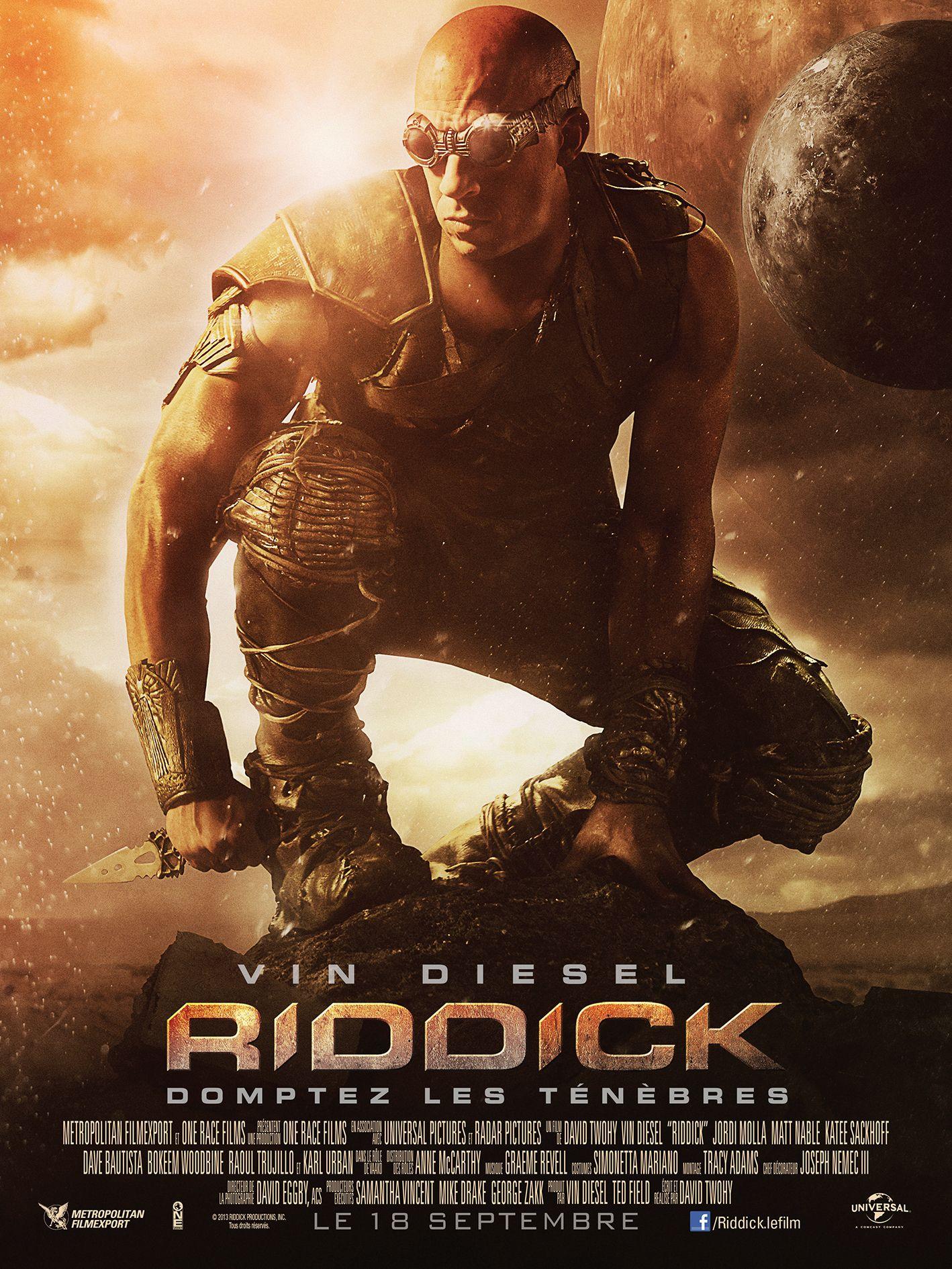 """[MEDIA] - """"RIDDICK """" French poster"""