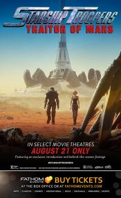 MEDIA - STARSHIP TROOPERS TRAITOR OF MARS  Une nouvelle bande-annonce